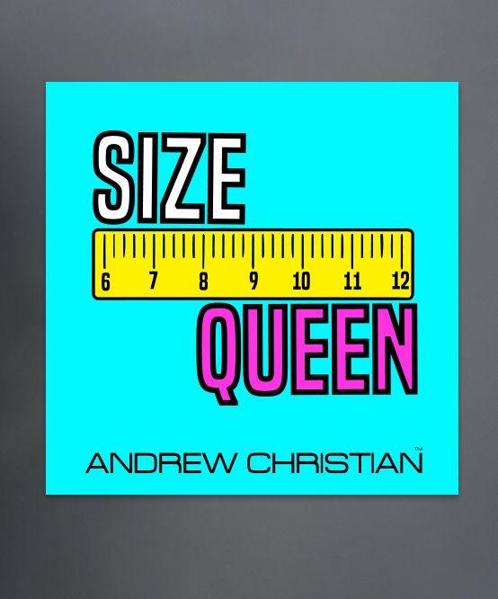 Size Queen Sticker