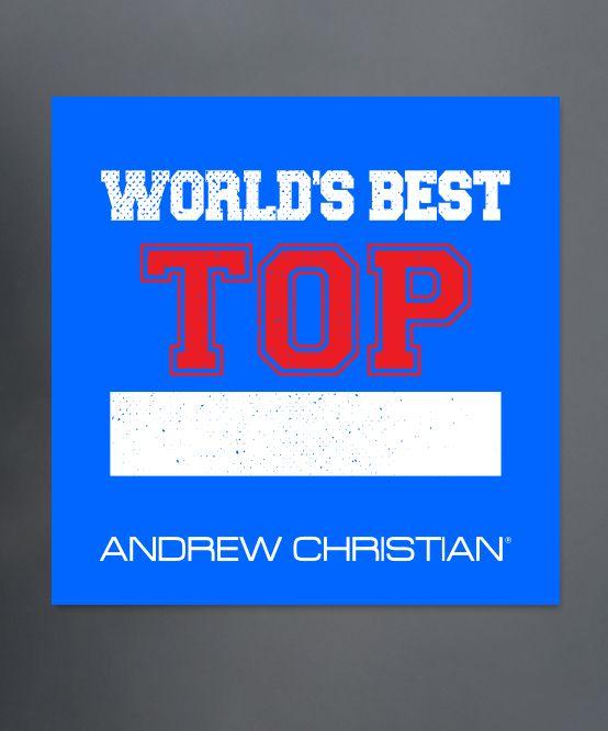 World's Best Top Sticker