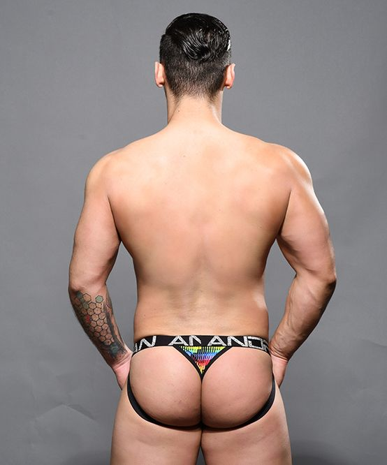 Disco Pride Jock Thong w/ Almost Naked