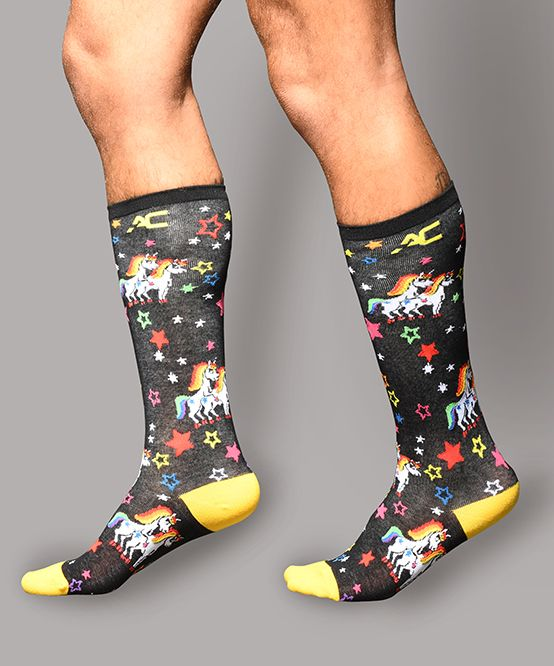 Naughty Unicorn Socks