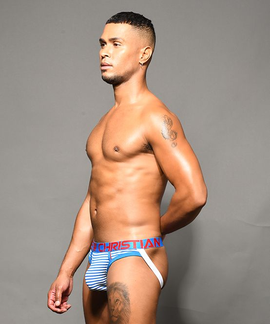 Hampton Stripe Jock w/ Almost Naked