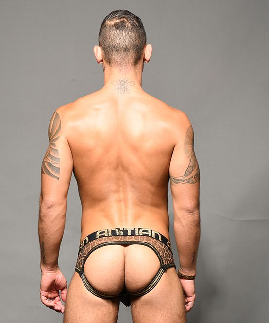 Sheer Leopard Arch Jock w/ Almost Naked