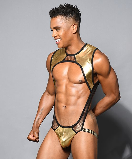 FUKR Golden Net Singlet