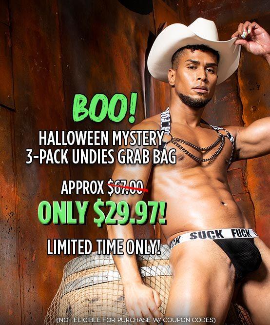 BOO! Halloween Mystery 3-Pack Undies Grab Bag