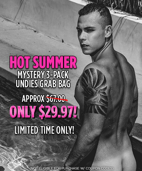 HOT SUMMER Mystery 3-Pack Undies Grab Bag