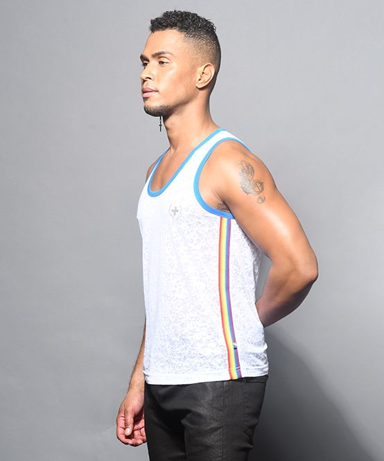 Pride Burnout Laurel Tank Top