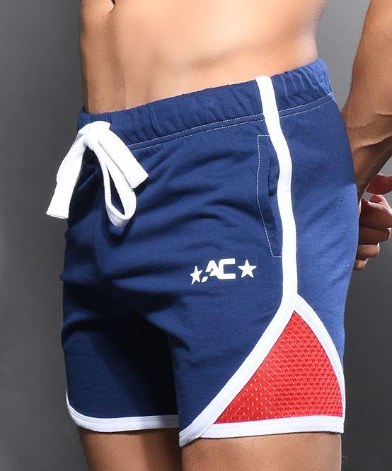 Athletic Gym Shorts w/ Mesh