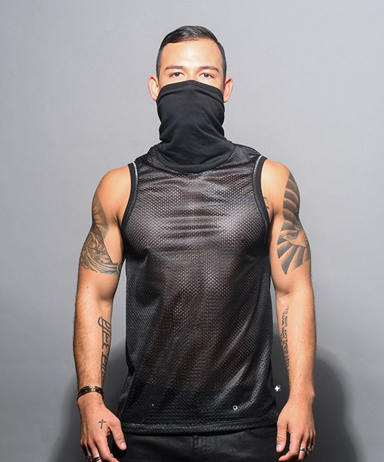Mask Gym Mesh Tank