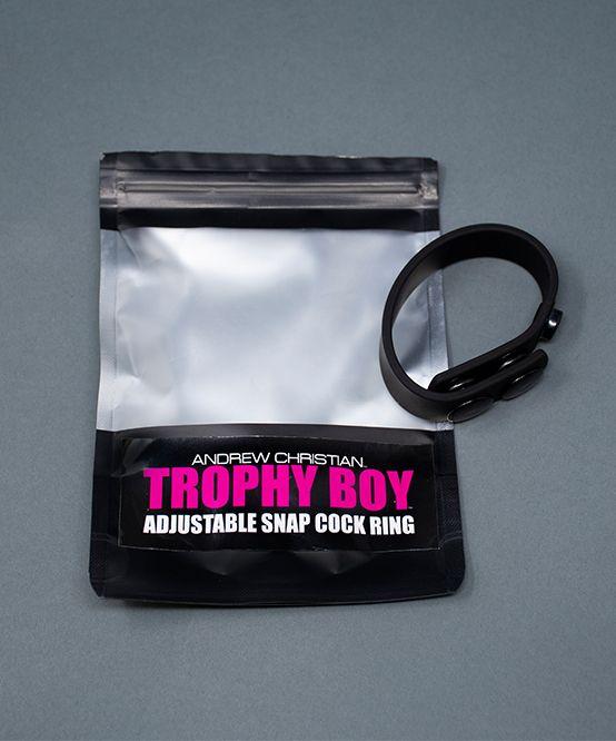 Trophy Boy Adjustable Snap Cock Ring