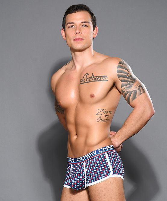 Stars Mesh Boxer w/ Almost Naked