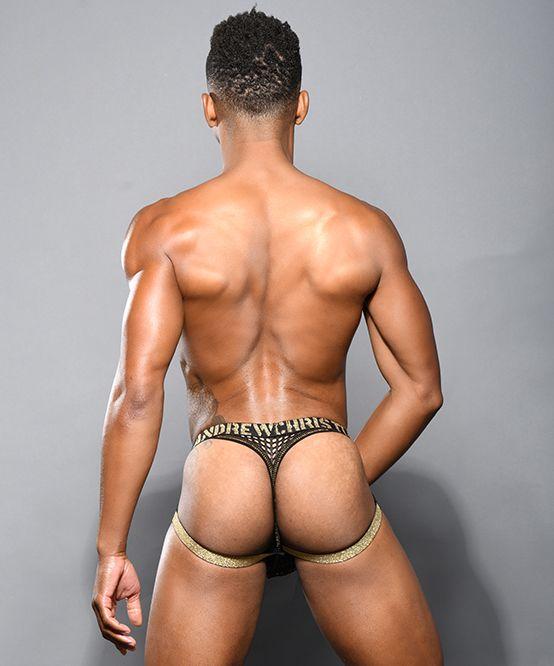 Access Mesh Jock Thong w/ Almost Naked