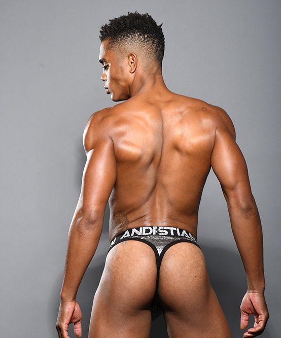 Gunmetal Thong w/ Almost Naked