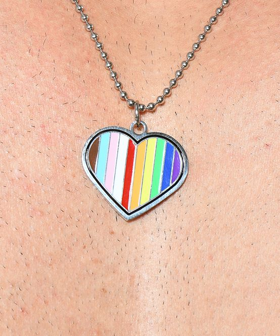 Progress Pride Necklace