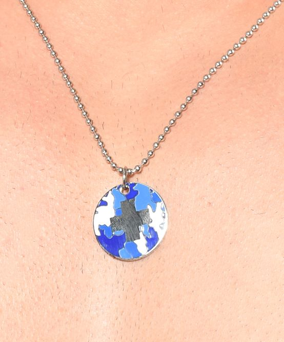 Camouflage Necklace