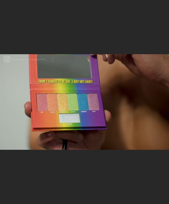 Rainbow Pride Palette