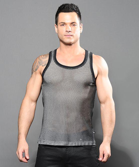 Muscle Mesh Tank