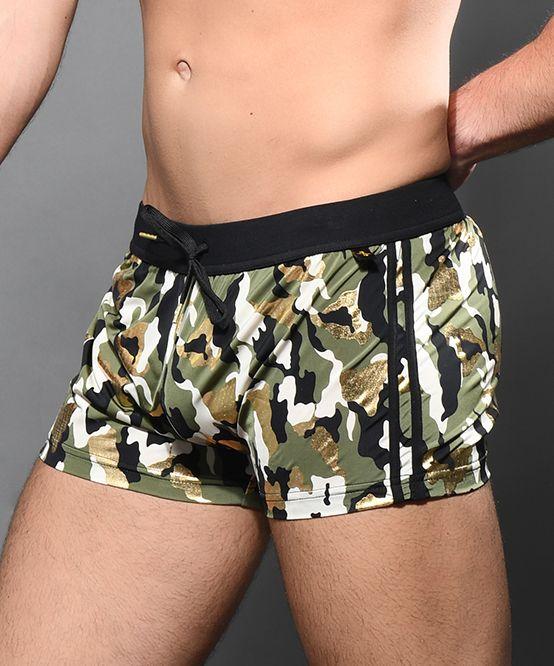Glam Camouflage Jogger Shorts
