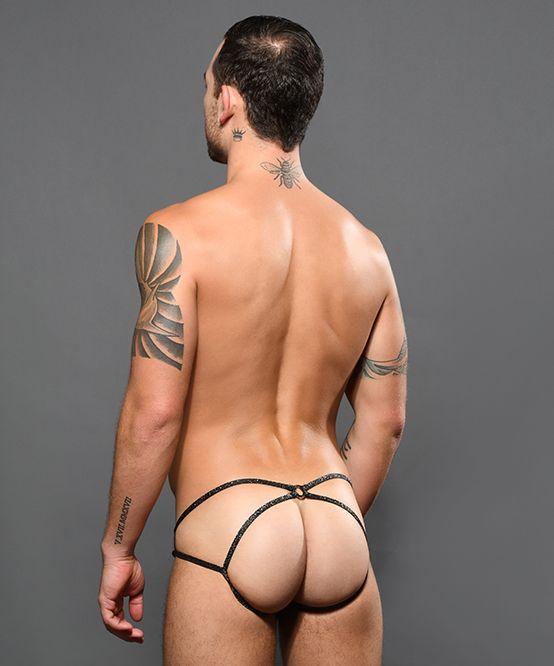 Sexy Lace Flirt Jock w/ Almost Naked