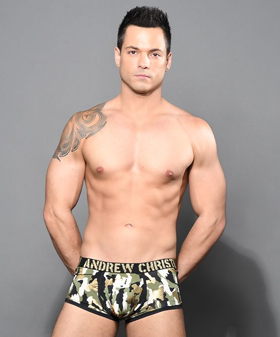 Glam Camouflage Boxer w/ Almost Naked