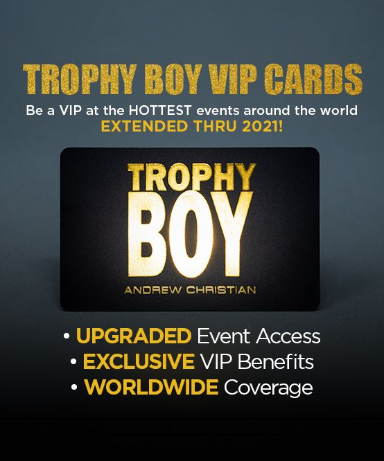 Trophy Boy VIP Card (EXTENDED THRU 2021)