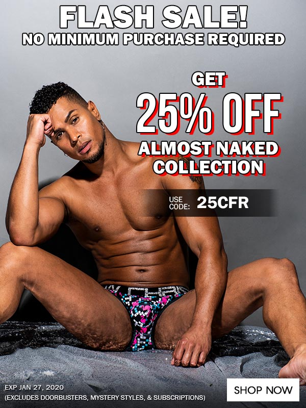 Get 25% OFF Almost Naked Collection