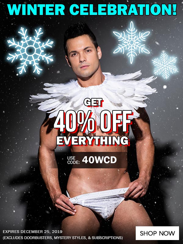Get 40% OFF Everything, No Minimum Purchase Required