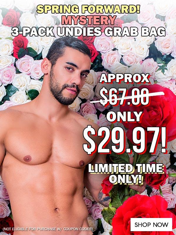Spring Mystery 3-Pack Undies Grab Bag