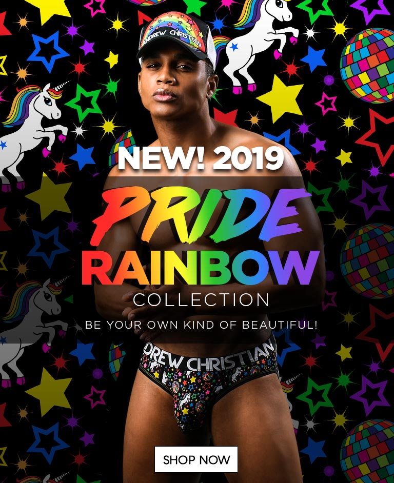 Slide NEW! 2019 Pride Rainbow Collection