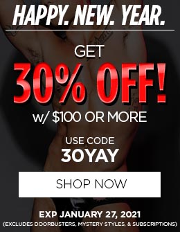 Get 30% OFF w/ $100 Or More