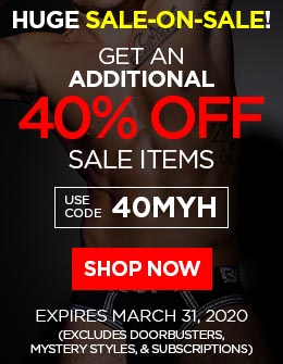 Get An ADDITIONAL 40% OFF Sale-Priced Items