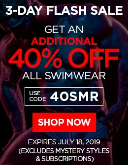 Additional 40% OFF All Swimwear