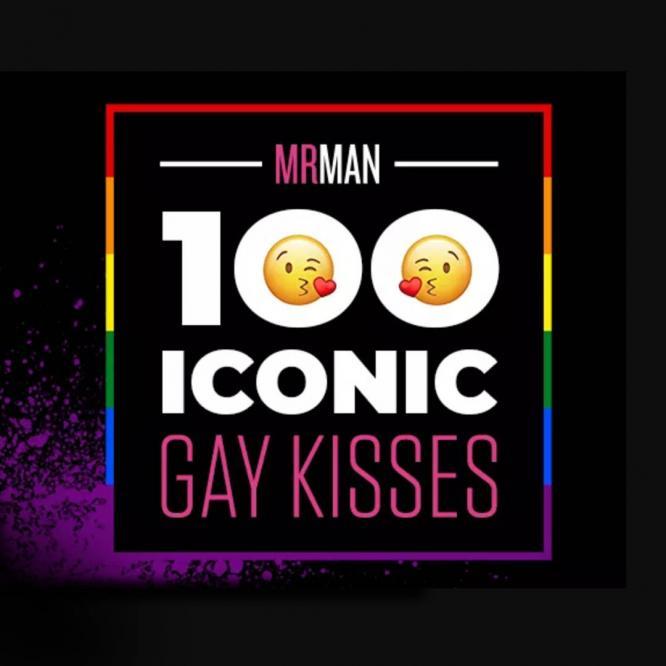 100 Iconic Gay Kisses