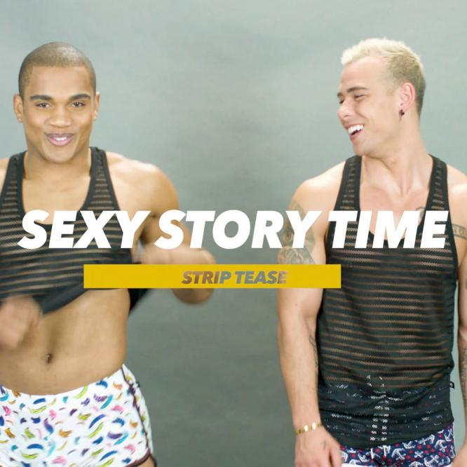 Sexy Story Time Strip Tease