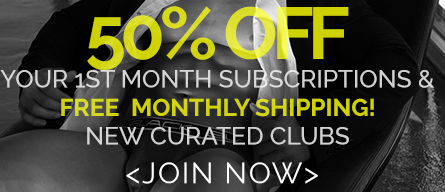 50% Off Subscriptions First Month
