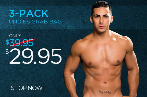 3-Pack Undies Grab Bag