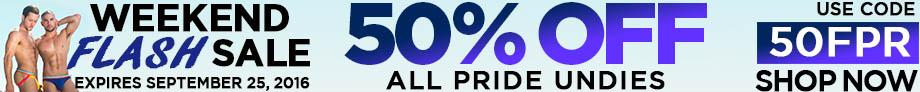 50% Off Pride Undies