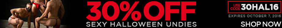 30% Off Halloween Undies