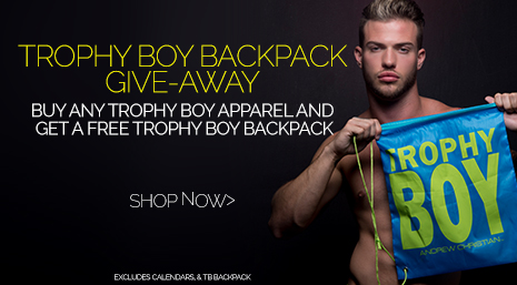 Free Trophy Boy Backpack