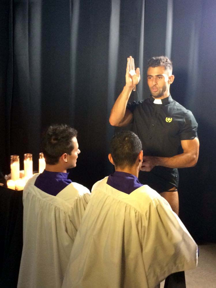 Forgive Me Father Behind The Scenes (20)