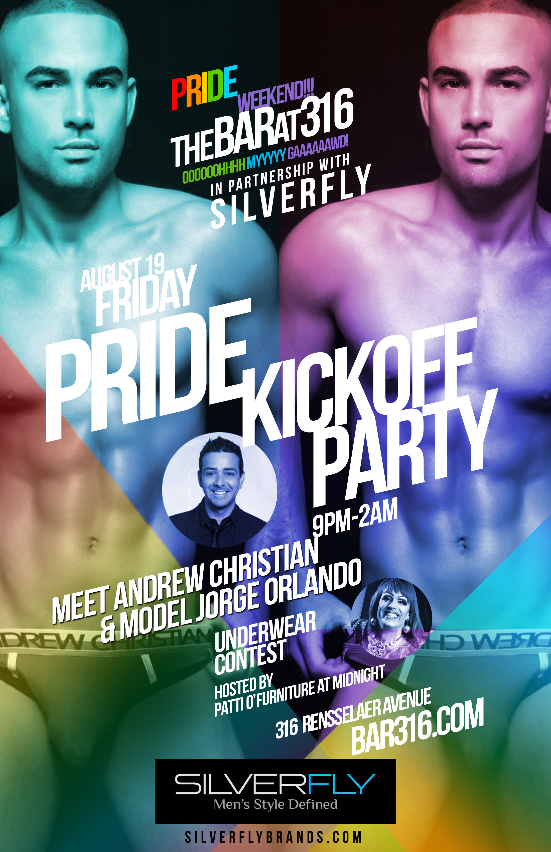 Charlotte pride kickoff party meet and greet with andrew christian 316pridefriday m4hsunfo